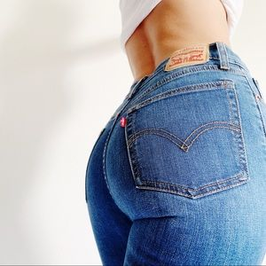 Levi's Wedgie Straight Crop Jeans 27 B316